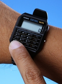 This is what we called a smartwatch back when i was in school