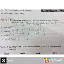 this kid is going places LOL
