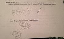This kid is going places not necessarily good places but still