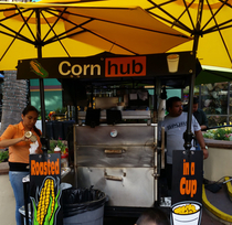 This Mexican Corn stand I found in San Antonio