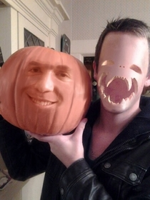This needs to be a thing this Halloween jack o lantern face swap