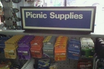 This picnic will be a sausage fest