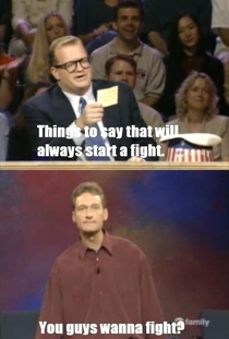 This show was a gift Whose Line is it Anyway