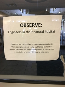 This sign in the engineering lounge at my college