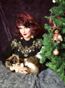 This year I took s glamour photos for my Christmas cards