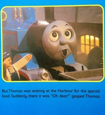 Thomas the Tank Engine is hilarious if you have a dirty mind