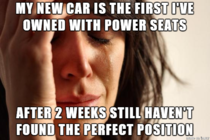 Thought power seats would be so great