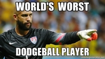 Tim Howard is the worst