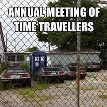 Time traveller meetup