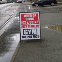 Tired of being fat and ugly