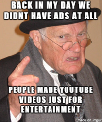 To all those who complain about adblockers