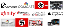 To everybody who upvoted the rcirclejerk post in order to make Comcast show up as a Nazi Organisation on Google Congratulations Heil Comcast