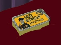 To get Futurama a few more seasons send anchovies to Comedy Central Address in comments