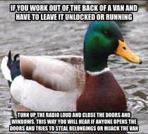 To mobile mechanics and tradesmen I learnt this the hard way
