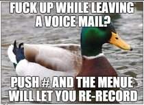 To that potential employee that goofed on a voicemail and then said fuck