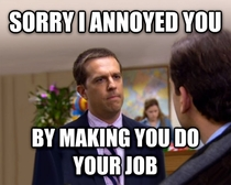 To the customer service rep who was angry because I was returning a defective item