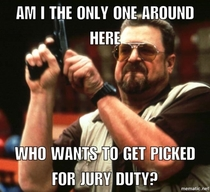 To the guy who used Reddit to get out of jury duty
