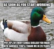 To the youth entering the workforce follow this rule without compromise