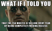 To those concerned about the TSA spending  on a randomizer app