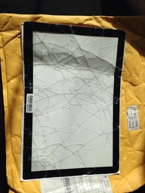 Today I received my MacBook Pro screen glass replacement