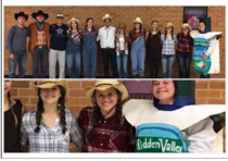 Today was ranch day at the high school