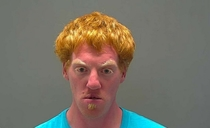 Todays best mugshot arrested for burglarizing a church