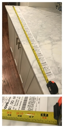 Tonights CVS receipt for a  purchase