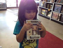Took my daughter out for Free Comic Book Day and told her she could get one toy She picked this Cinderella doll