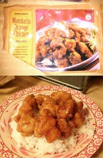 Trader Joes Mandarin Orange Chicken