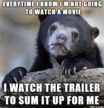 Trailers give away too much these days