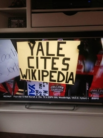 Trash talking at an Ivy League level