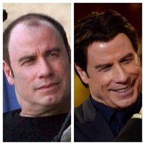 Travolta killin the wig game