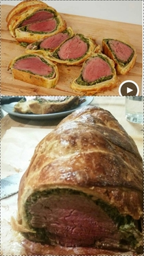 Tried my hand at beef wellington