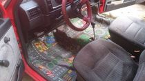 Tried to fix the carpet in my car with a little nostalgia