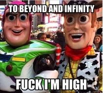 Tripped out Woody