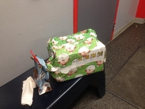 TSA re-wrapped my friends Christmas gifts after inspecting them
