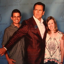 Tulsa Oklahoma the cock blocking capital of the world when Bruce Campbell is there