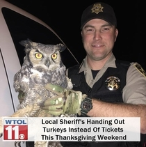 Turkeys Instead Of Tickets