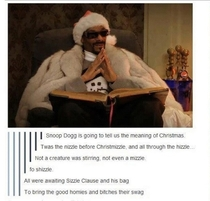 Twas the nizzle before christmizzle