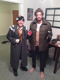 Two of my good friends absolutely nailed Marv and Harry