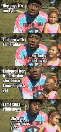 Tyler The Creator is a clown