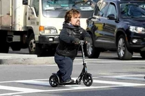 Tyrion Lannister charging into battle