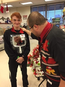 Ugly sweater competition