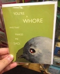 UK greeting cards are a bit too harsh sometimes