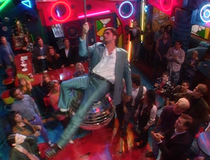 Uncle Jesse did it first I came in on a discooooo ball