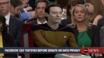 Under heavy fire from Congress today Data claims he was never mishandled by Facebook