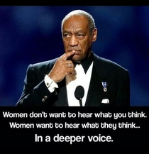 Understanding women with Bill Cosby