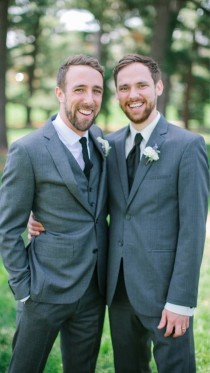 Unfortunate timing A guy and his brother on the day of his wedding Posted to Facebook the same day as the DOMA decision was announced
