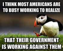 Unpopular Opinion Puffin- Most Americans