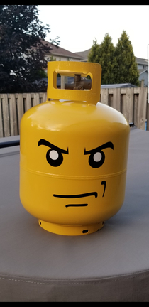 Upgraded the Propane Tank